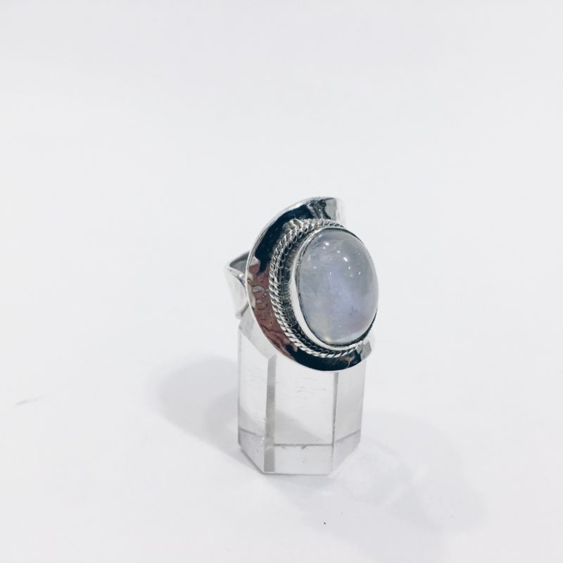 A6 Anillo adaptable Piedra Luna