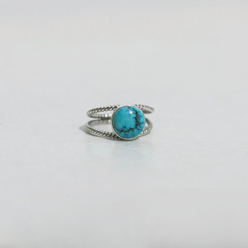Anillo Double Turquoise